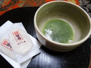 芝舟とお抹茶